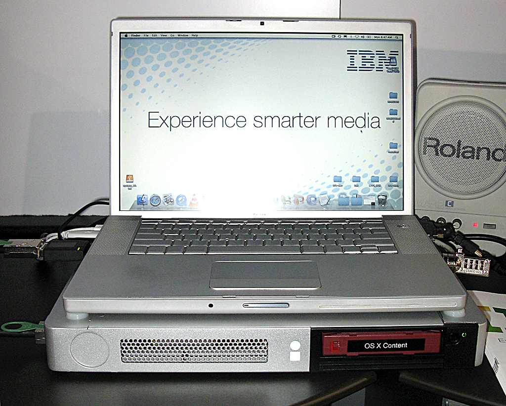 LTO/LTFS portable drive at NAB 2010